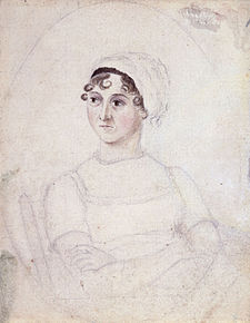 Sketch of Jane Austen by sister Cassandra