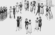 Steps of the Regency Waltz from Thomas Wilson's Dance Manual